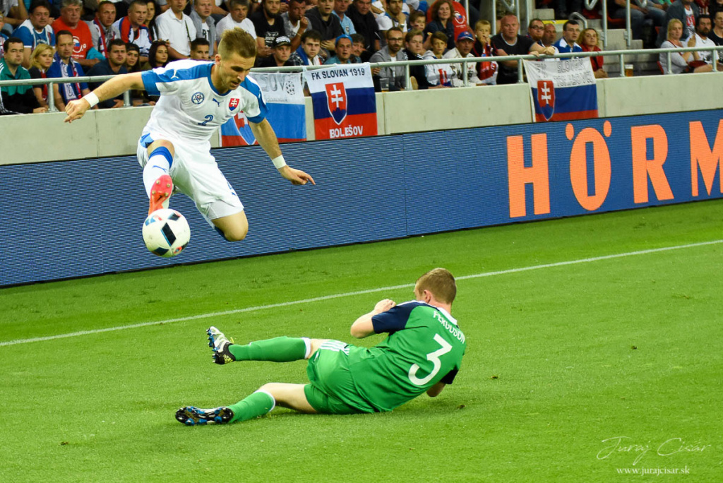 Slovensko-S. Írsko 0-0 4.6 2016