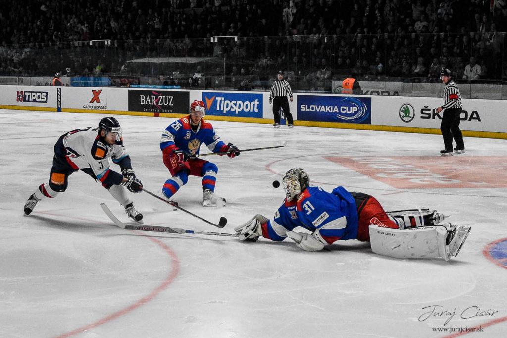 Slovakia cup : Slovensko – OH tím Ruska 6:2(2:0, 0:0, 4:2) 10.2 2017