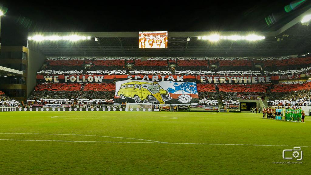 EL playoff : Spartak Trnava – Olimpija Ľubľana 1:1 (1:1)