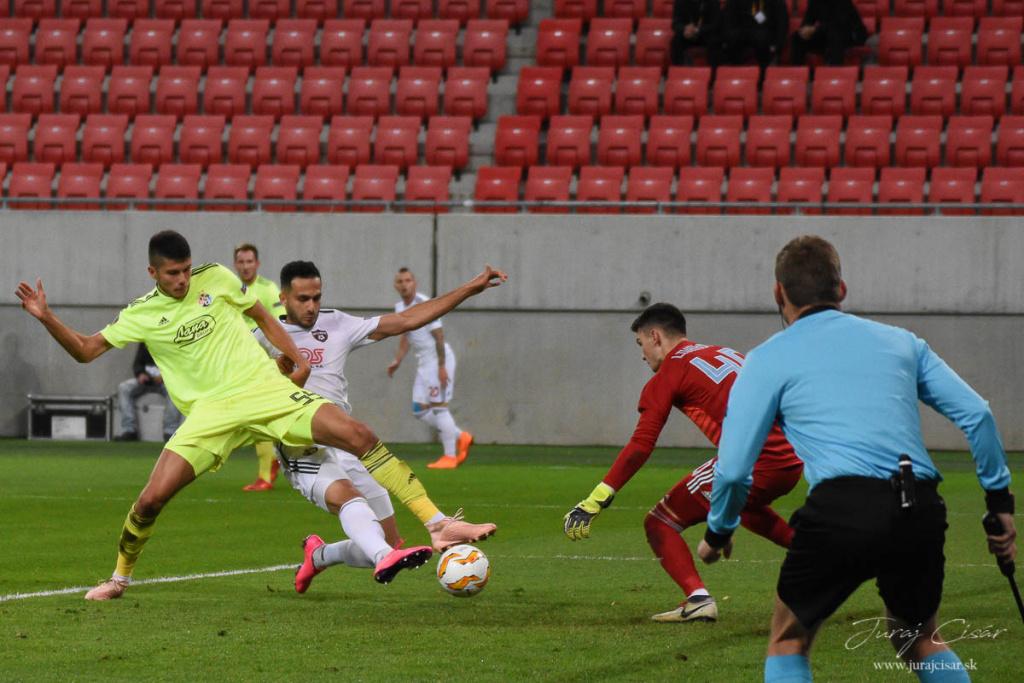 3.kolo EL : Spartak Trnava – Dinamo Záhreb 1:2 (1:0) 25.10 2018