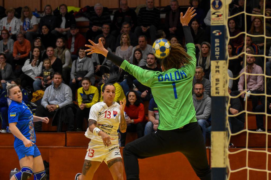 Kvalifikačný zápas MS 2019 Slovensko-Ukrajina 36-32