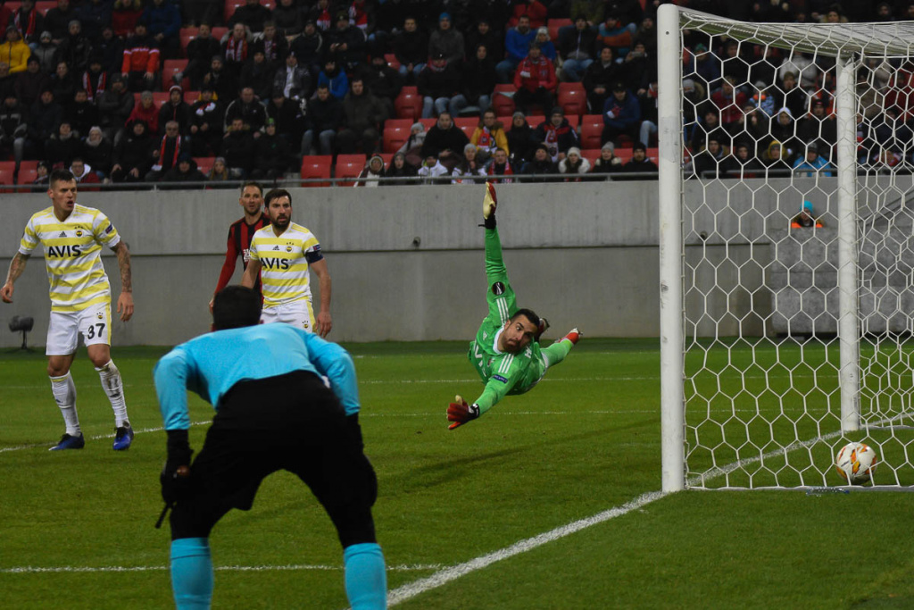 Spartak Trnava-Fenerbahçe Istanbul 1-0 13.12 2018
